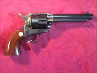"CIMARRON MODEL P PRE WAR SINGLE ACTION ARMY REPLICA .357 MAG 5.5"" CASE COLOR NEW (MP401)"
