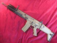 FN SCAR 16S 223/5.56 NATO DARK EARTH W/ FN FOREARM EXTENSION AND TIMNEY TRIGGER USED EXCELLENT CONDITION