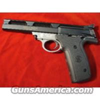 SMITH AND WESSON 22A 22LR. TWO TONE