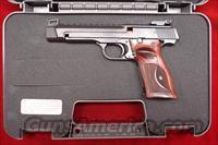 SMITH AND WESSON PERFORMANCE CENTER M41 22LR TARGET NEW  (178031)
