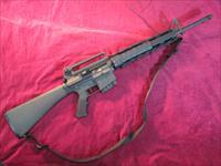 "DPMS AR-10 RIFLE 308 CAL 20"" BARREL W/ A2 STOCK AND REMOVABLE CARRY HANDLE USED"