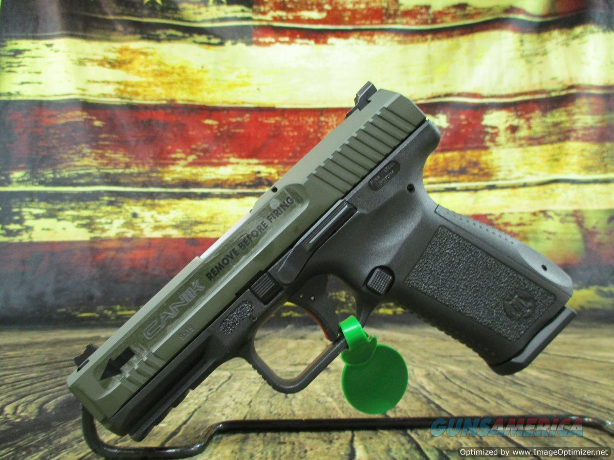 Century Arms Canik TP9SF Elite 9mm OD Green 4 19