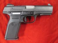 "RUGER SR9 BLACK 4""9MM USED"