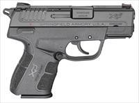 "Springfield Armory XD-E 9mm Exposed Hammer 3.3"" 9+1, 8+1 NEW (XDE9339BE)"