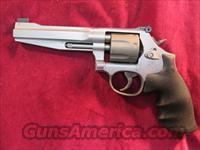 "SMITH AND WESSON PERFORMANCE CENTER MODEL 986 9MM REVOLVER, STAINLESS 5"" NEW"