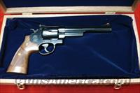 "SMITH AND WESSON MODEL 29 CLASSIC BLUE 44 MAG. 6.5"" WITH PRESENTATION CASE NEW"