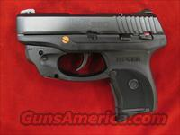 RUGER LC380 (Lightweight Compact pistol) W/ LASERMAX, 380CAL. NEW