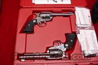 RUGER SASS VAQUERO MATCHED SET POLISHED STAINLESS .45 COLT CAL. NEW  (05134)