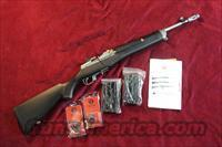 RUGER STAINLESS MINI 14 TACTICAL RIFLE 223 CAL. NEW (M-14/20GBCP)  (05819)