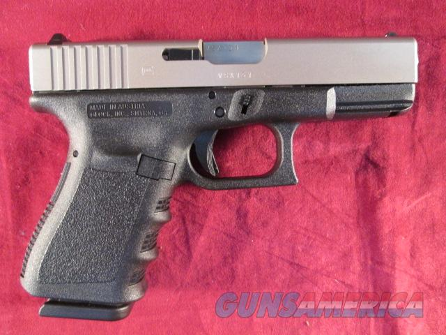 Glock Model 23 Gen 3 40 Cal Nickel Slide New For Sale
