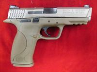 SMITH AND WESSON M&P VTAC 9MM FLAT DARK EARTH USED