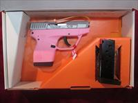 TAURUS PT738 TCP STAINLESS PINK FRAME 380 CAL. NEW (1-738039P)