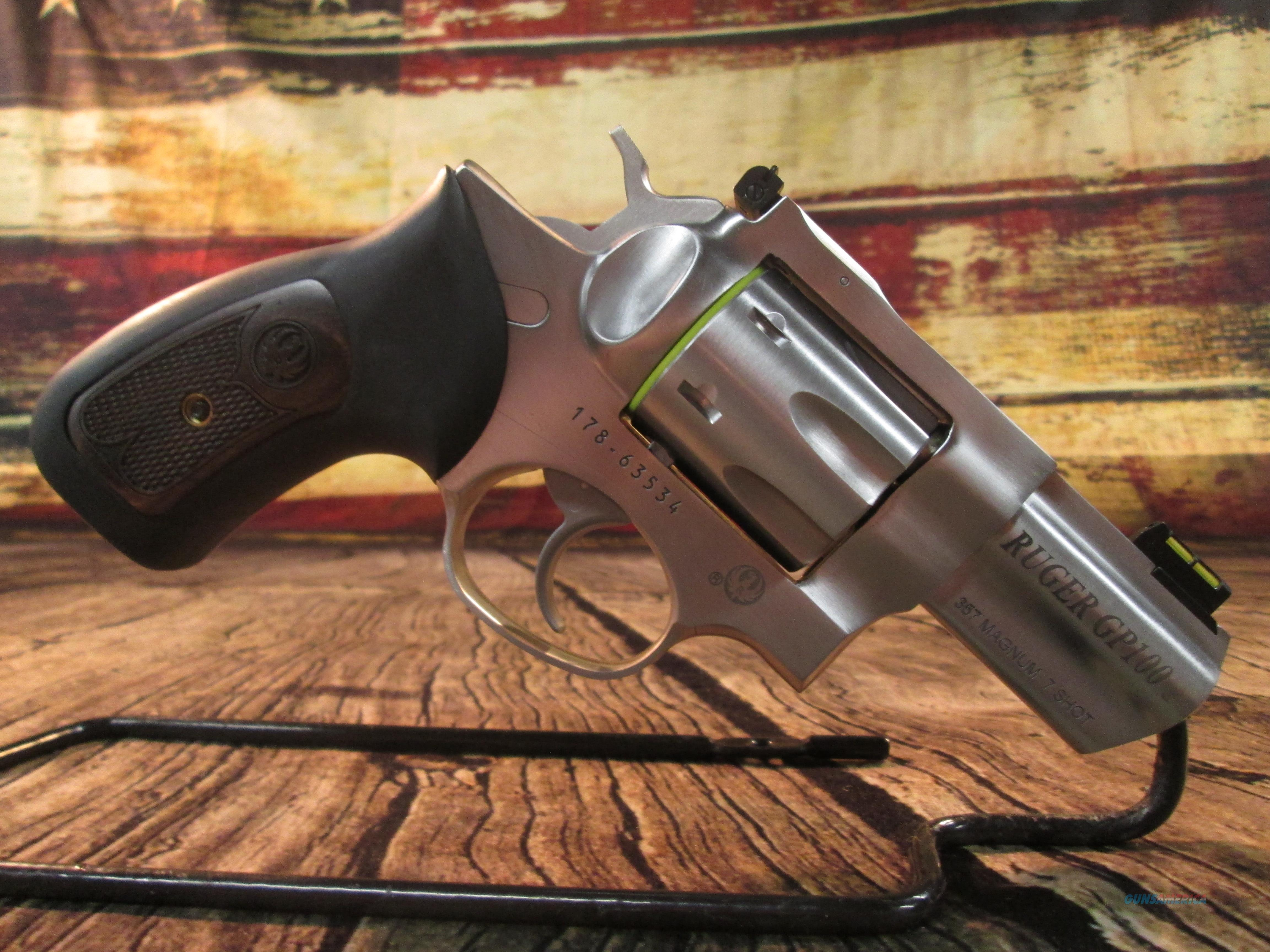 Ruger GP100 Stainless 2 5