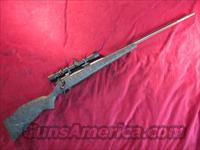 "WEATHERBY MARK V BOLT ACTION 30-378 WEATHERBY MAG 26"" FLUTED BARREL W/ 3X9 SCOPE USED"