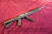 RUGER STAINLESS 10/22 TACTICAL WITH TAPCO STOCK AND FACTORY 25 ROUND MAG NEW
