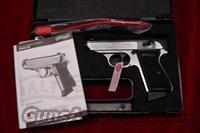 WALTHER PPK/S 22CAL. NICKEL NEW