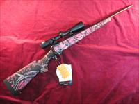 SAVAGE 11 TROPHY HUNTER XP YOUTH MUDDY GIRL W/NIKON SCOPE NEW
