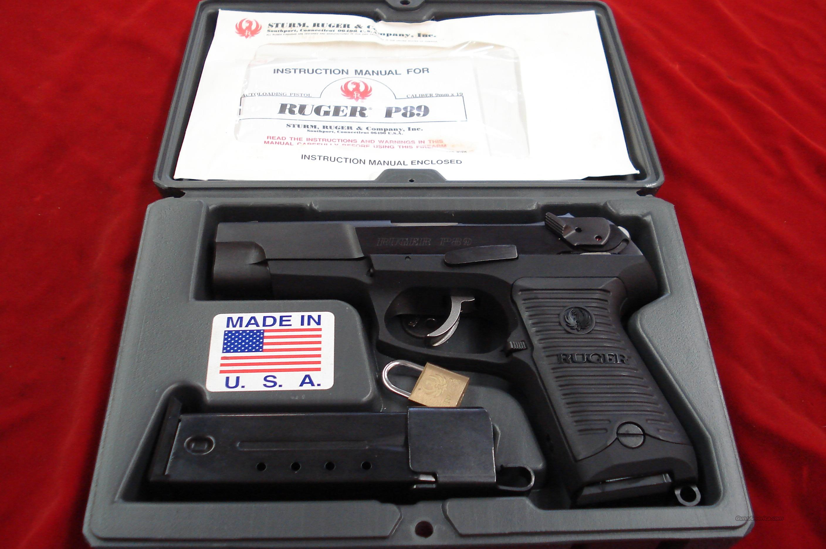 p89 ruger manual browse manual guides u2022 rh trufflefries co Ruger P89 Ruger P93