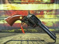 "Cimarron (Uberti) Model P Pre War Single Action Army Replica 357 Mag 4.75"" Case Hardened New (MP400)"