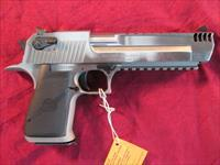 "MAGNUM RESEARCH DESERT EAGLE 50AE CAL 6"" STAINLESS W/ INTEGRAL MUZZLE BREAK NEW"