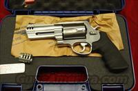 "SMITH AND WESSON 500 MAGNUM STAINLESS 4"" NEW (163504)"