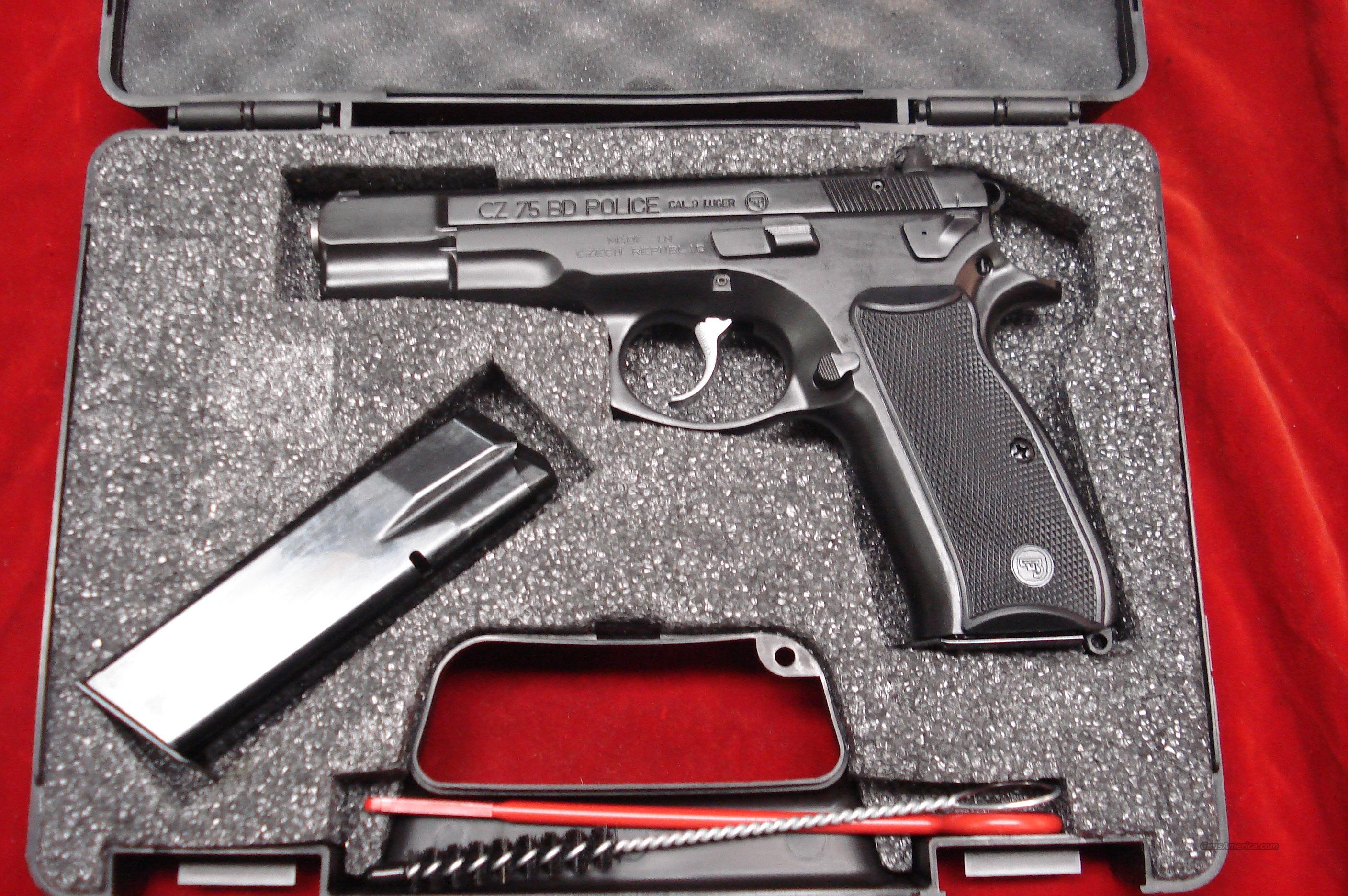 Cz 75 Bd Police 9mm New For Sale