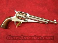 "Uberti 1875 Army Outlaw Nickel Finish 7 1/2"" .45LC(341515)"