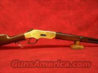 "Uberti 1866 Yellowboy 19"" Carbine Brass .45 Colt(342280)"