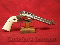 "Ruger New Vaquero Bisley 5.5"" Stainless/Ivory .45 Colt"