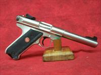 "Ruger Mark III 512 Target .22 Long Rifle 5.5"" Bull Barrel Stainless Steel Finish (10103)"