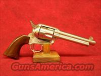 "Uberti 1873 Cattleman NM Stainless Steel .45 LC 5 1/2"" (345019)"