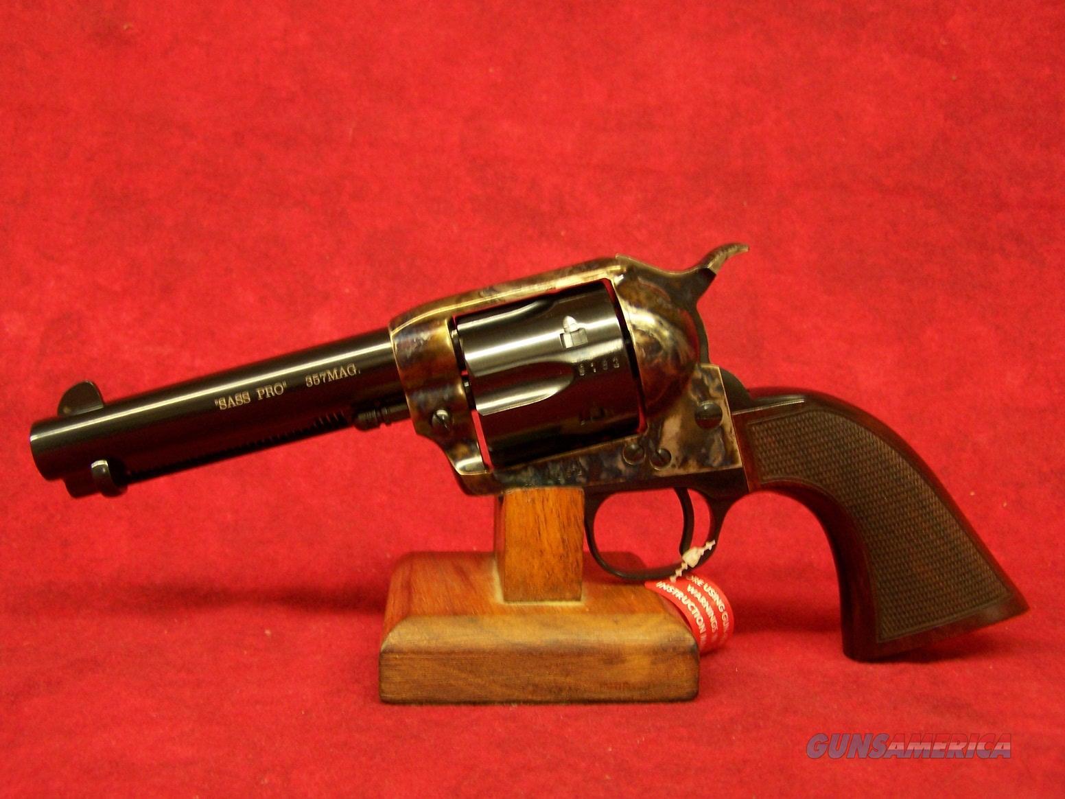 Uberti 1873 Cattleman Short Stroke SASS Pro  357 Mag 4 3/4
