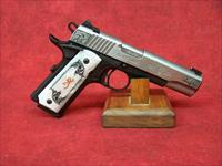 "Browning 1911-380 Medallion Compact 380 ACP 4.25"" Stainless (051966492)"