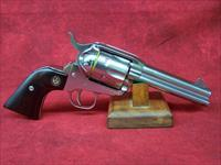 "Ruger Model KNVRB-455 New Vaquero Bisley .45 Colt 5.5"" Barrel High Gloss Stainless Steel Finish (05109)"