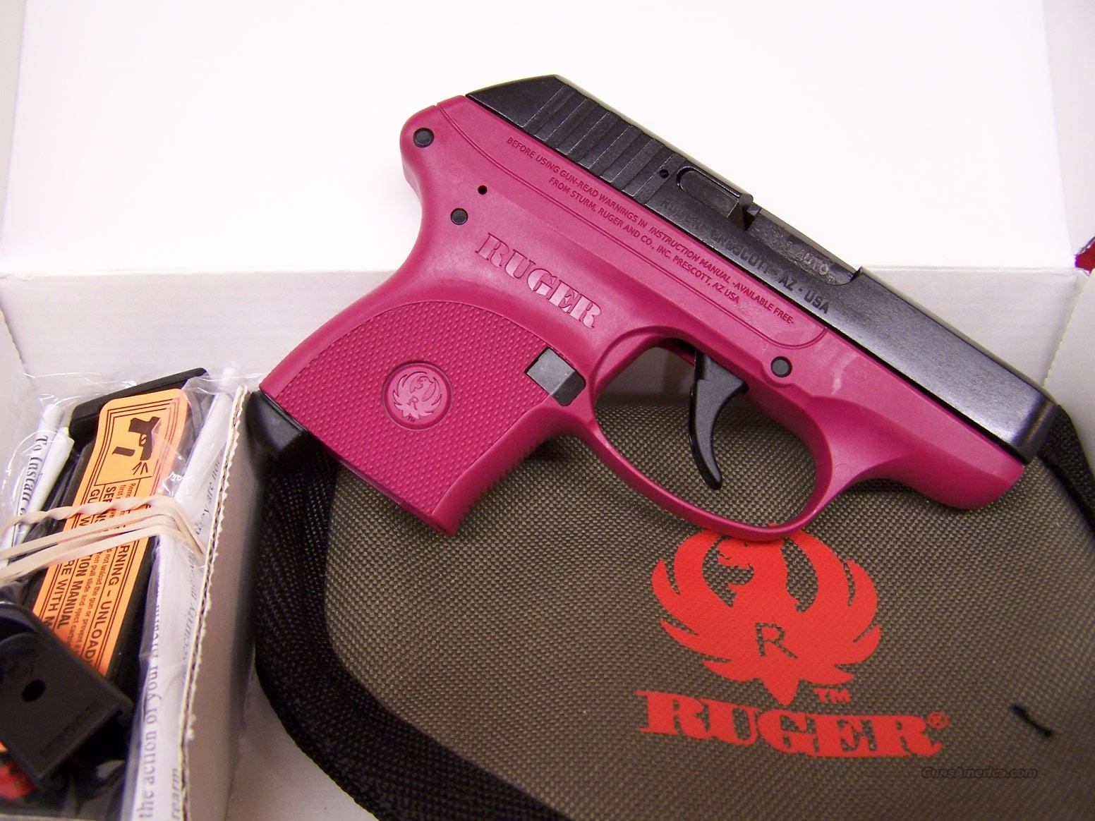 Ruger Lcp 380 Raspberry Color For Sale