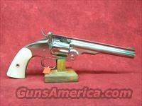"Uberti 1875 Top Break Schofield .45LC 7"" Nickel (348572)"