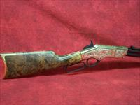 "Henry Deluxe Engraved Limited 2nd Edition .44-40 Winchester 24.5"" Barrel Blue Finish American Walnut Stock 13 Round (H011D2)"