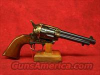 "Uberti 1873 Artillery Cattleman Old Model Charcoal Blue .45 Colt 5 1/2"" (345139)"