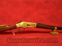 "Uberti 1866 Yellowboy Short Rifle Brass 20"" Oct .45 Colt (342340)"