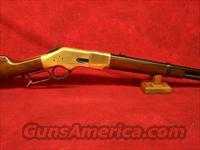"Uberti 1866 Yellowboy 19"" Carbine Brass .44/40 (342300)."
