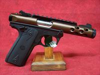 "Ruger 22/45 Lite Rimfire Pistol .22LR 4.4"" Threaded Barrel Bronze Anodize Finish (43909)"
