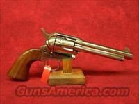 "Uberti 1873 Cattleman Polished Nickel 5 1/2"" .45LC (344111)"
