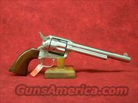 "Uberti 1873 Cattleman II NM Stainless Steel .45LC 7 1/2"" (345129)"