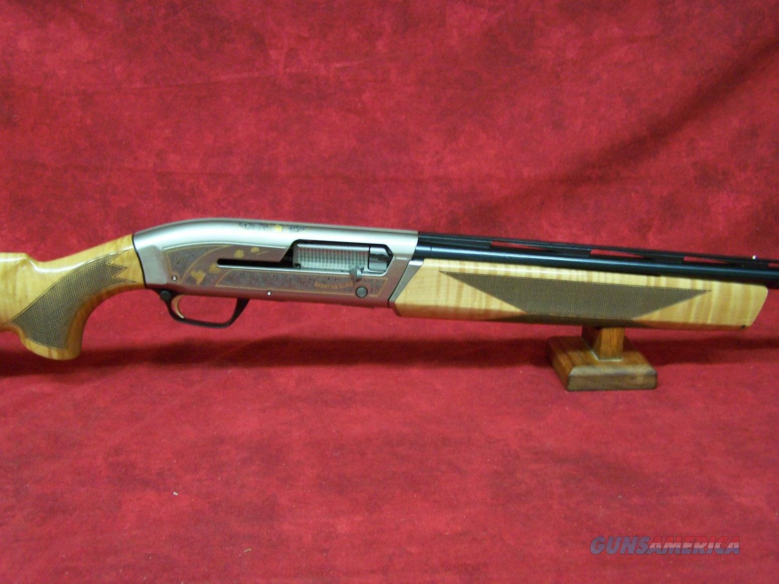 Browning Maxus Sporting Golden Clays Maple 12ga For Sale