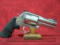 "Smith & Wesson 500 4"" S/S .500 S&W (163504)"