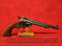 "Uberti 1873 Cattleman Old Model Calvalry Markings Charcoal Blue .45 Colt 7 1/2"" (345149)"
