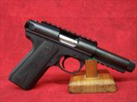 Ruger 22/45 Threaded Barrel Rimfire Pistol .22LR Caliber 4.5 Inch Barrel Picatinny Rail Blued Finish (10149)