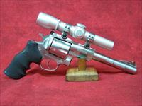 "Ruger Super Black Hawk .44 Mag 7.5"" SS Barrel w/Leupold Scope"