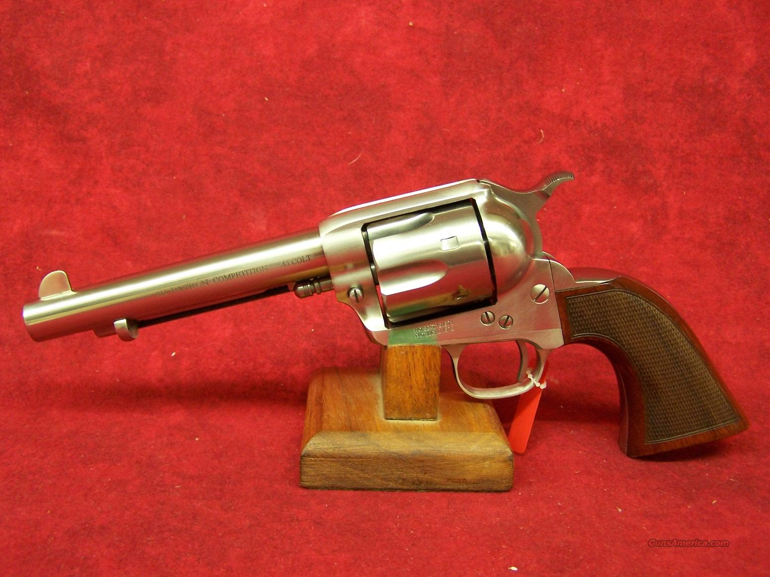 uberti 1873 cattleman el patron competition 45 for sale