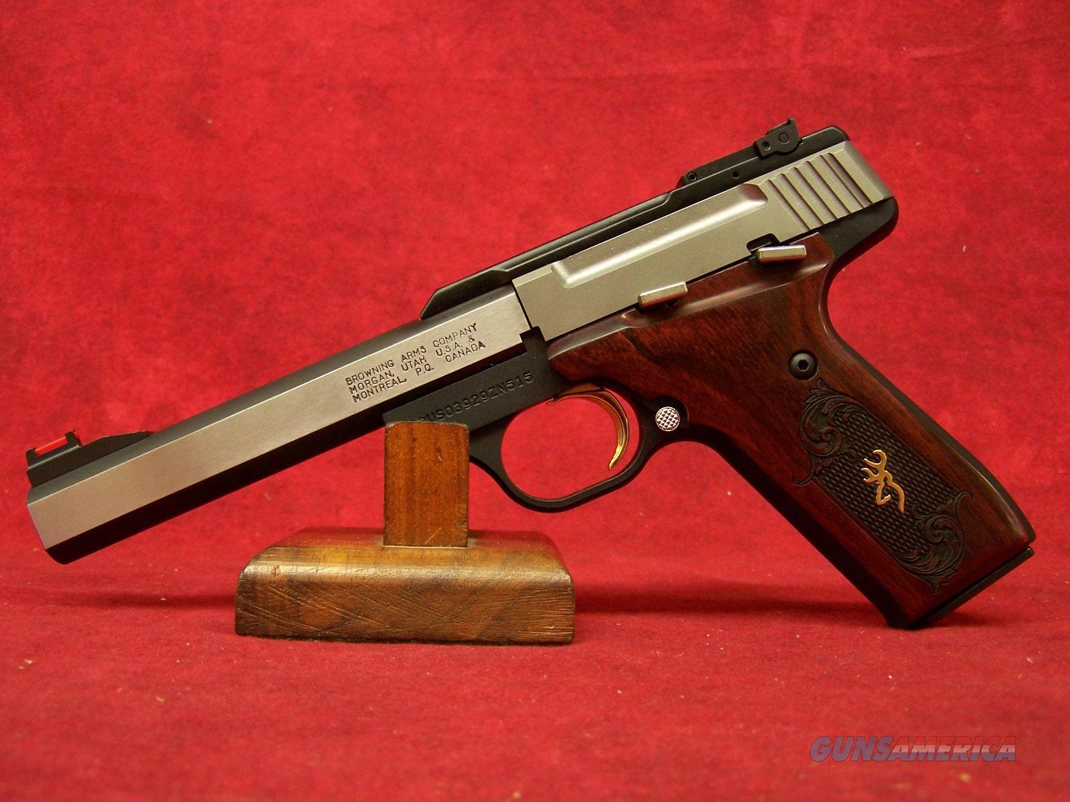 Browning Buck Mark Medallion Rosewood 22lr 5 5 For Sale